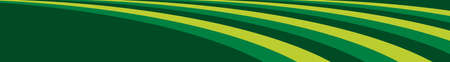 a background of several rolling green hills in shades of green as a web banner Illustration
