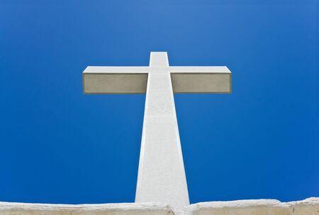 the believer: Cross Stock Photo