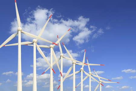 Modern wind turbines Green Energy Stock Photo - 16452580