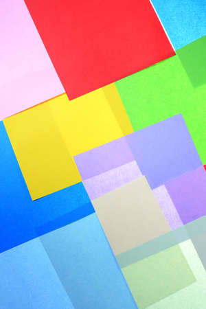 Abstract backgrounds superimposed together colors paper texture Stock Photo - 17029724