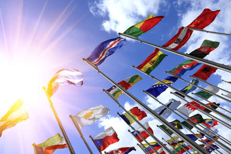 World flags Stock Photo - 17024275