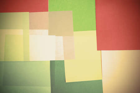 Abstract backgrounds superimposed together colors paper texture Stock Photo - 17371337