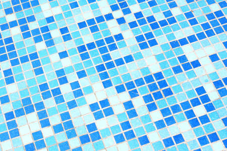The background of the blue plaid ceramic tiles photo