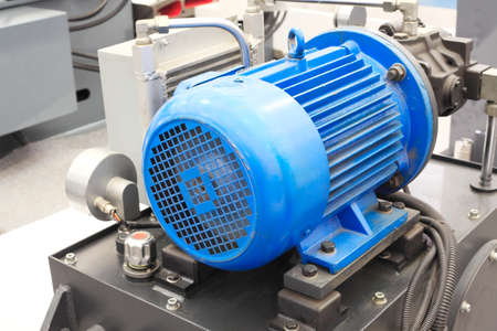 powerful electric motors for modern industrial equipment  photo