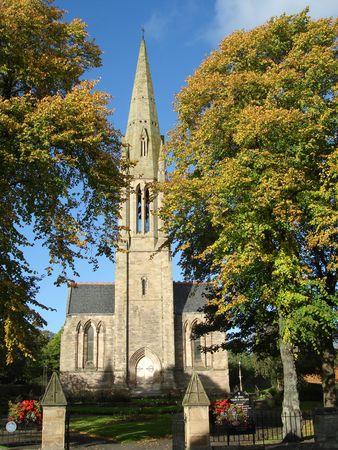 Cupar Church Stock Photo