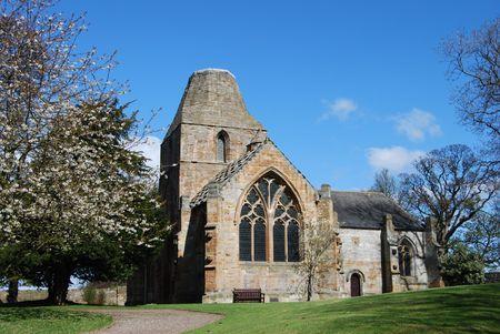 Seton Church Stock Photo