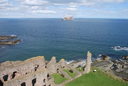 View Fron Tantallon Castle photo