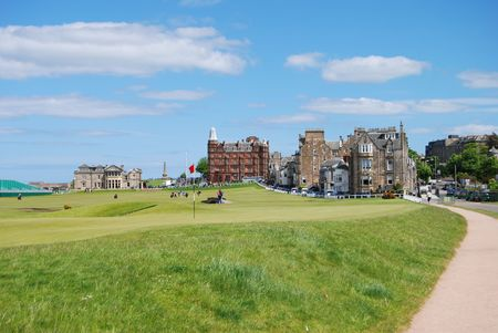 fife: The Old Course Stock Photo