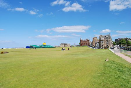 Old Course With Stand Stock Photo - 7133272