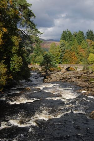 River Dochart Falls Stock Photo - 8003694