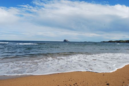 Tide Coming In At North Berwick photo