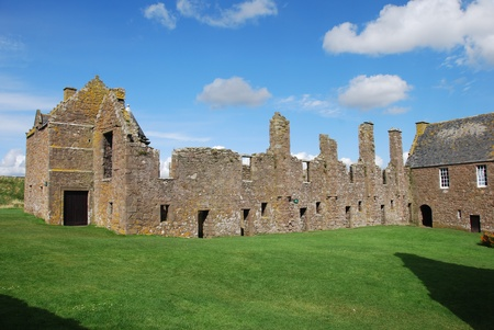 dunnottar castle: Ruins of Dunnottar Castle