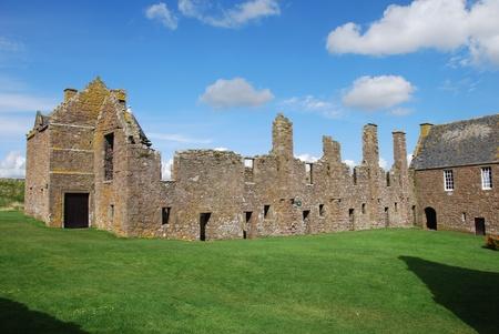 barracks: Ruins of Dunnottar Castle