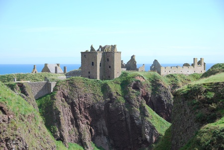 Clifftop Castle at Dunnottar photo
