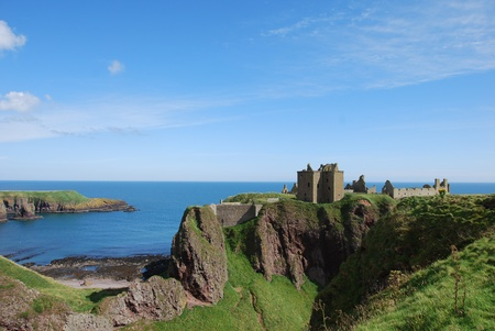 Dunnottar Castle and North Sea