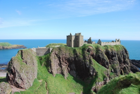 Majestic Dunnottar Castle photo