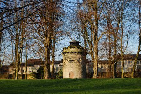 turret: Old Turret Stock Photo