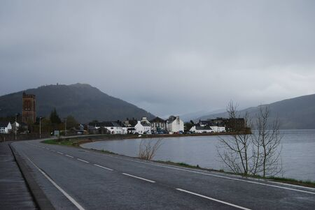 Rainy Day at Inverary photo