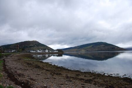 Calm Morning at Loch Fyne photo