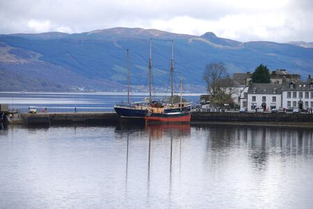 Ships at Inverary photo