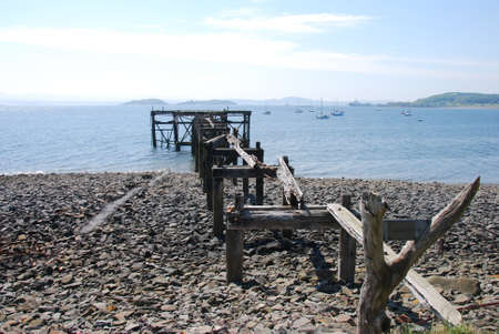 Ruined Pier Stock Photo - 13871440