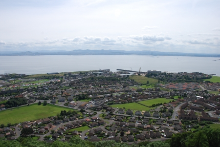 HIlltop View of Burntisland