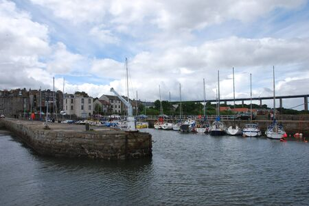Small Harbour at South Queensferry photo