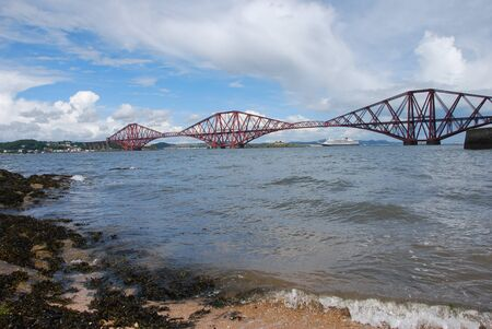 forth: Forth Rail Bridge from Beach