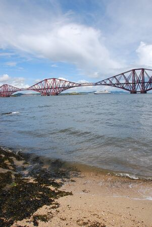 View of Forth Rail Bridge photo
