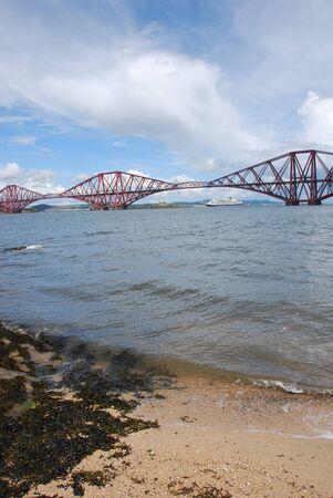 forth: View of Forth Rail Bridge