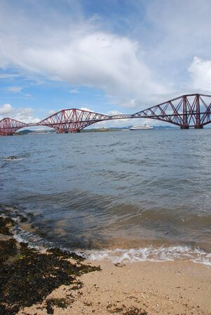 forth: View Toward Forth Rail bridge