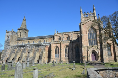 Ancient Abbey at Dunfermline Stock Photo