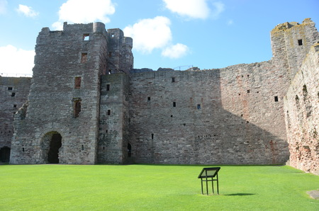 lothian: Inside Tantallon Castle Editorial