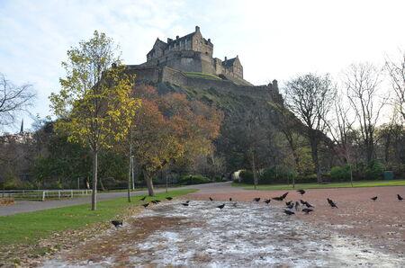 Winter at Edinburgh Castle