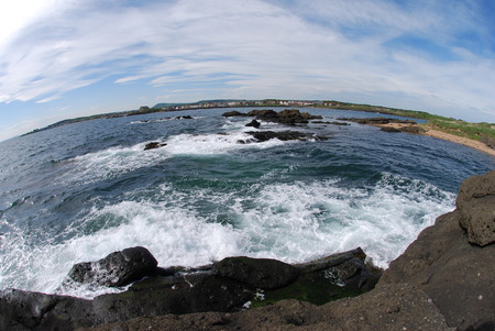 squall: Rough Seas Stock Photo