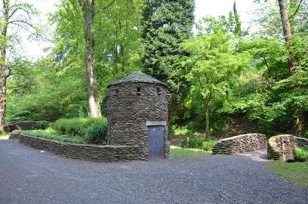 glen: Letham Glen Stock Photo