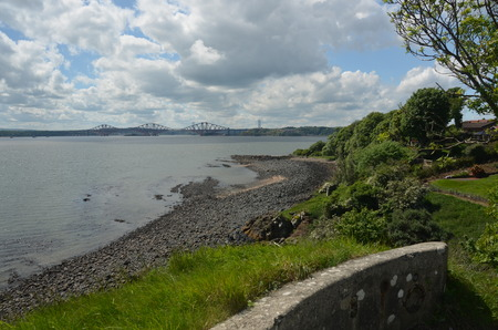 forth: Forth River View Stock Photo
