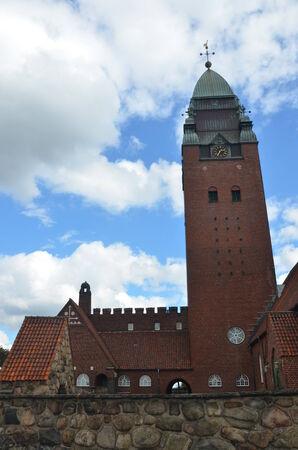 towering: Towering Church Foto de archivo