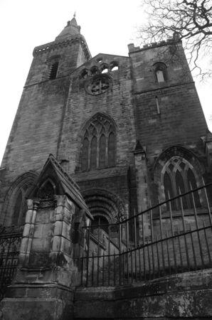 the abbey: Abbey Church Stock Photo