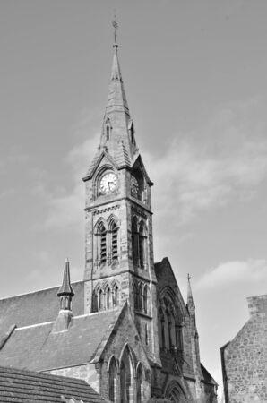 church tower: Church Tower Stock Photo