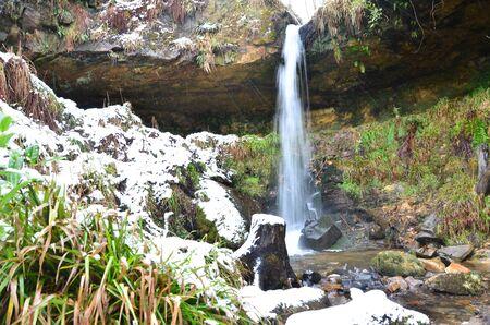 den: Maspie Den Waterfall