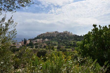 acropolis: View of Acropolis Stock Photo