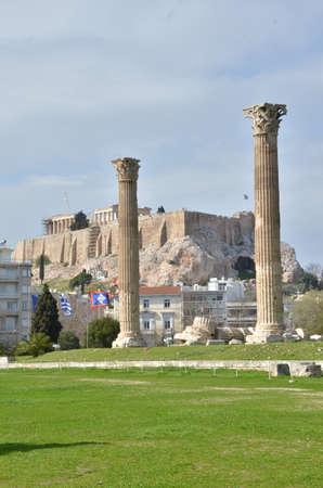 olympian: Upright Columns