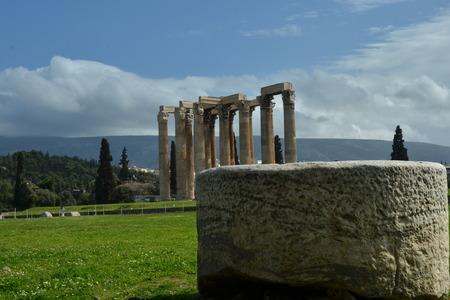 olympian: View Toward Olympian Zeus Temple