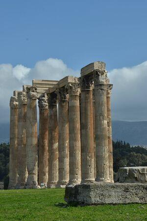 olympian: Ruins of Olympian Zeus Temple