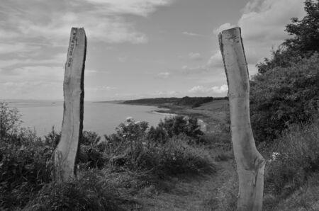 coastal: Coastal Path Stock Photo