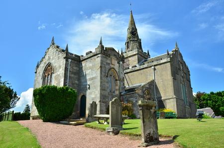 the church: Iglesia y Cementerio