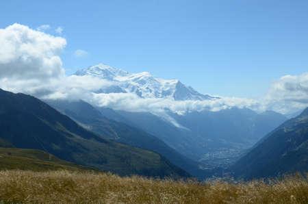 vista: Mountain Vista Stock Photo