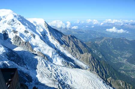blanc: Mont Blanc and Chamonix Valley