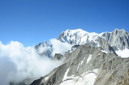 blanc: Cloud at Mont Blanc